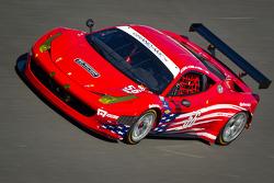 #56 AF - Waltrip Ferrari 458: Rui Aguas, Robert Kauffman, Travis Pastrana, Michael Waltrip
