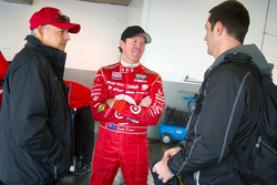 Scott Dixon and Max Papis