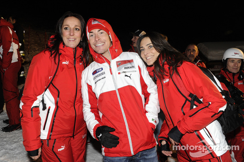 Nicky Hayden and friends