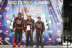 Shane Cottle, Kevin Swindell and Brad Sweet