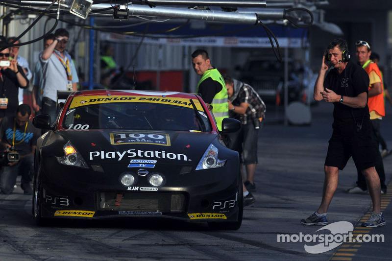 #100 RJN Motorsport Nissan 370Z: Lucas Ordonez, Jordan Tresson, Bryan Heitkotter, Jann Mardenborough