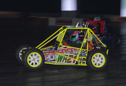 Autograss Racing In the Live Action Arena