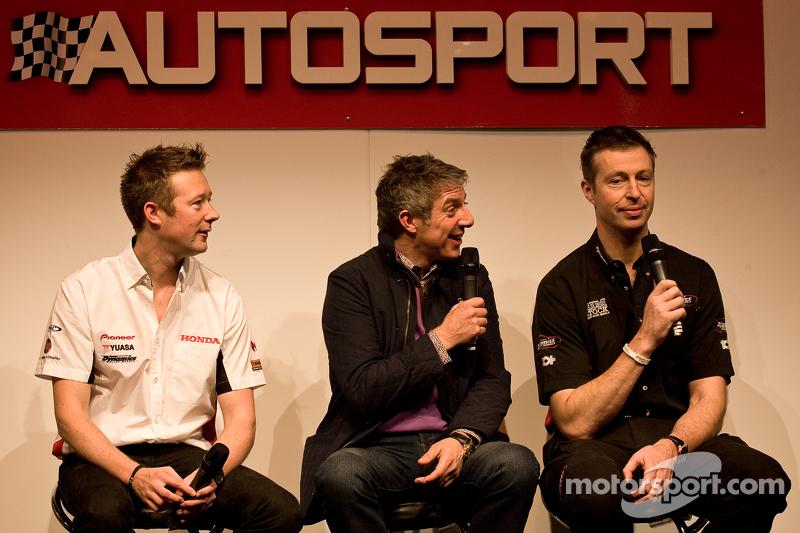 Gordon Sheddom, Jason Plato and Matt Neal