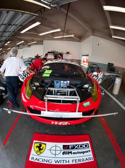 AIM Autosport Team FXDD Racing with Ferrari Ferrari 458