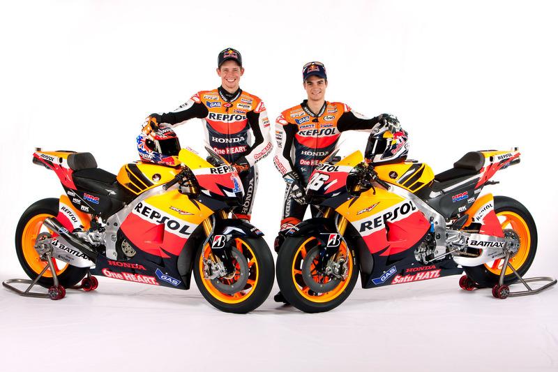 Casey Stoner y Dani Pedrosa, Repsol Honda Team