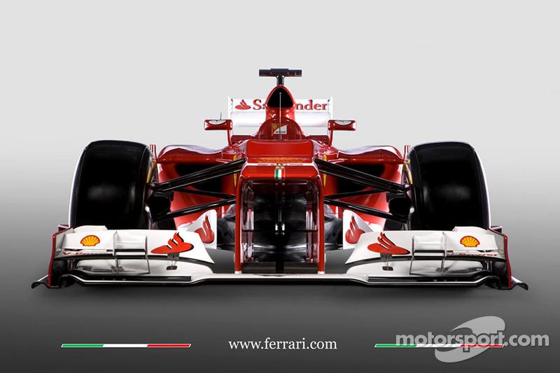 El Ferrari F2012 de 2012