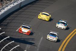 #43 Team Sahlen Mazda RX-8: Joe Nonnamaker and #20 Liqui Moly Team Engstler Mitchum Motorsports Porsche Porsche GT3: Franz Engstler, David Murry, Joseph Safina, Gunter Schaldach