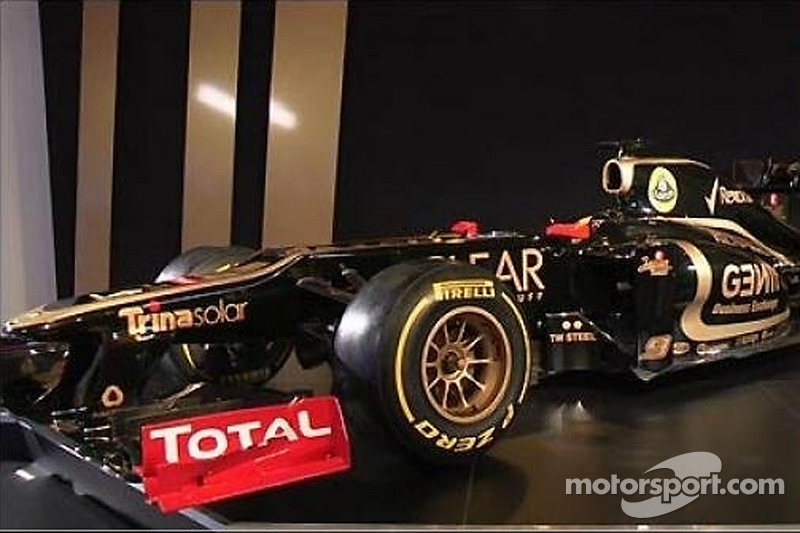 Voorstelling Lotus E20