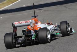 Parte trasera del Sahara Force India Formula One Team de Paul di Resta