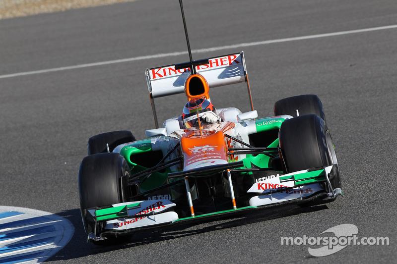 Jules Bianchi, Sahara Force India Formula One Team, piloto de pruebas