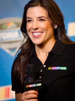 Ex-Miss Sprint Cup Monica Palumbo