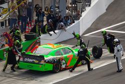 Pitstop Danica Patrick, JR Motorsports Chevrolet