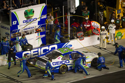 Pit stop for Casey Mears, Germain Racing Ford