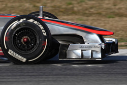 McLaren front wing and nose cone