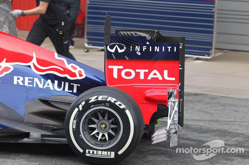 Sebastian Vettel, Red Bull Racing achtervleugel
