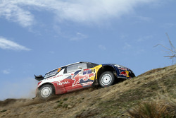 Mikko Hirvonen y Jarmo Lehtinen, Citroën DS3 WRC, Citroën Total World Rally Team