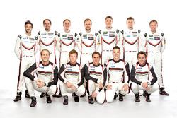 Porsche works drivers 2017