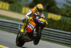 Победитель гонки Валентино Росси, Honda