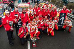 1. Fabian Coulthard, Team Penske, Ford; 2. Scott McLaughlin, Team Penske, Ford