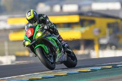 #3 Kawasaki: Adrien Ganfornina, Alexandre Ayer, Romain Maitre