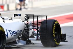Lance Stroll, Williams FW40 con aero sensor