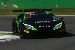 #777 Team HB Racing, Lamborghini Huracan GT3: Gilles Vannelet, Bernard Delhez, Dominic Jöst