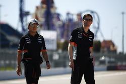 Ознакомление с трассой: Серхио Перес, Sahara Force India F1