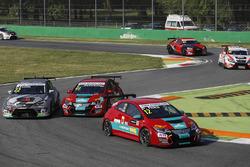 Start zum Rennen, Peter Rikli, Honda Civic, RIkli Motorsport führt
