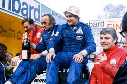 Podyum: Yarış galibi Timo Makinen, Henry Liddon, 2. Roger Clark, Tony Mason