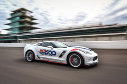 Onthulling Corvette pace car Indy 500