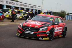 Adam Morgan, Ciceley Motorsport Mercedes Benz A-Classt