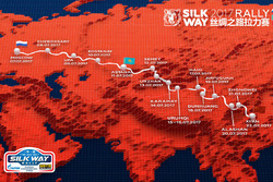 Silk Way Rally presentation in Moscow