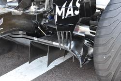 Williams FW40 rear diffuser detail