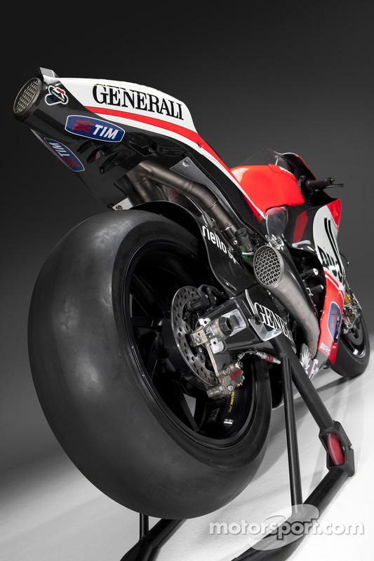 De nieuwe Ducati Desmosedici GP12