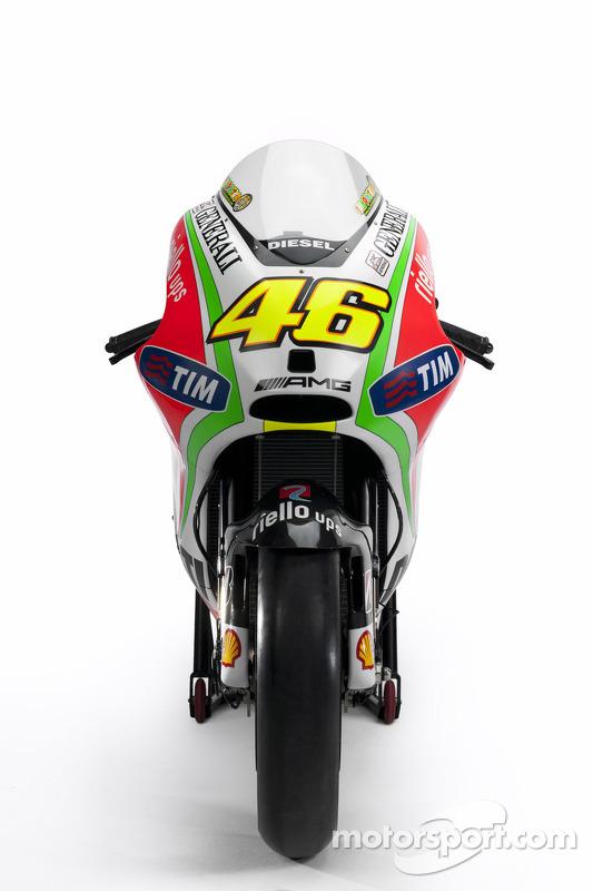 The new Ducati Desmosedici GP12