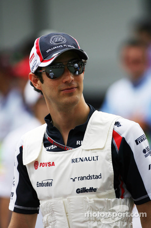 Bruno Senna, Williams rijdersparade