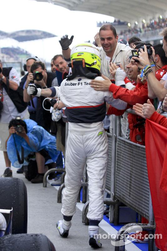 Tweede Sergio Perez, Sauber F1 Team