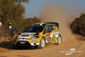 Daniel Oliveira and Carlos Magalhaes, Ford Fiesta RS WRC