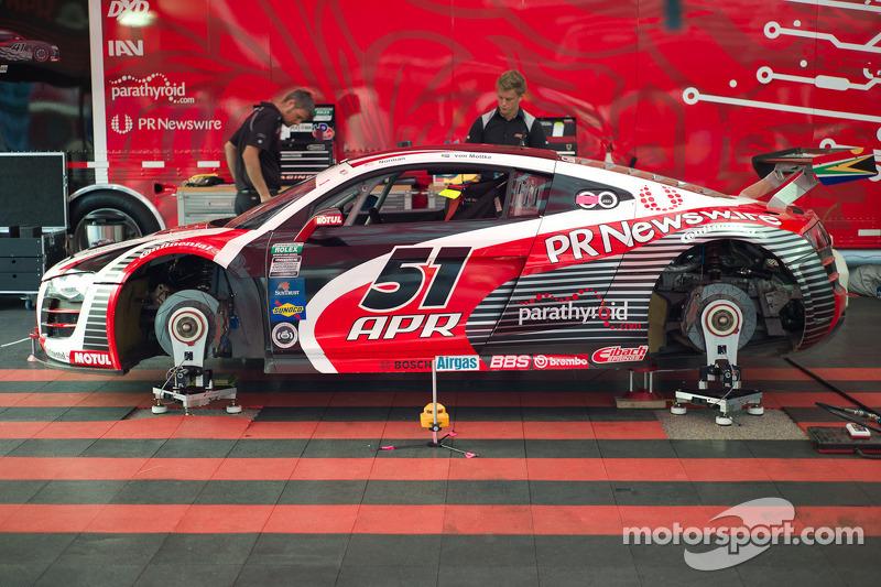 #51 Audi R8: Jim Norman, Dion von Moltke