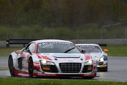 #16 Sainteloc Racing Audi R8 LMS: Gregory Guilvert, Marc Sourd