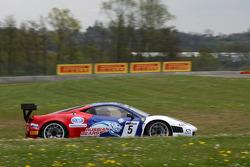 #5 Russian Bear Motorsport Ferrari 458 Italia: Maleev Vyacheslav, Kirill Ladygin