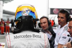 Lewis Hamilton, McLaren in parc ferme