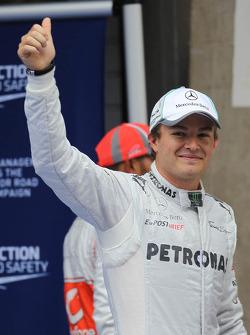 1ste plaats Nico Rosberg, Mercedes AMG F1