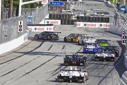 Race action #11 JDX Racing Porsche 911 GT3 Cup: Chris Cumming, Michael Valiante