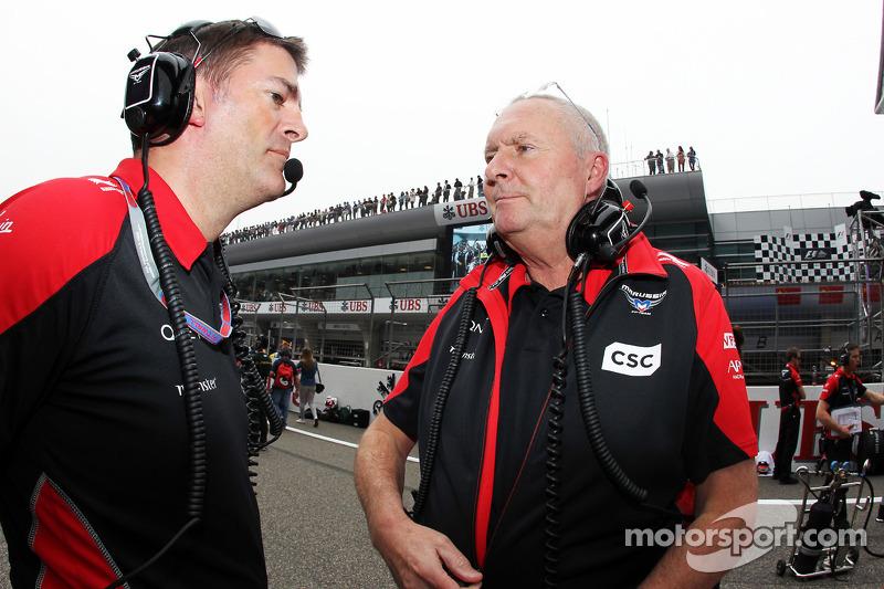 John Booth, Marussia F1 Team Team Principal,