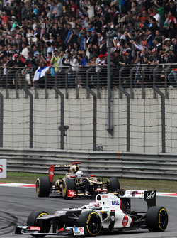 Kamui Kobayashi, Sauber voor Kimi Raikkonen, Lotus
