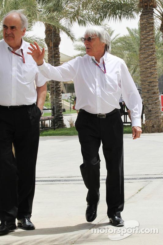 Bernie Ecclestone, CEO Formula One Group