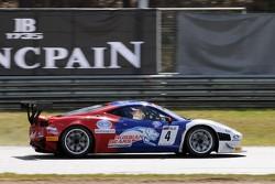 #4 Russian Bears Motorsport Ferrari 458 Italia: Sergey Ryabov, Miguel Toril