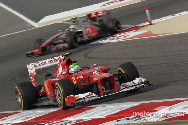 Felipe Massa, Scuderia Ferrari voor Lewis Hamilton, McLaren Mercedes