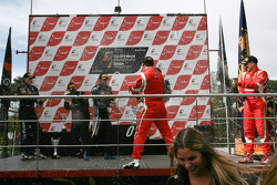 Podium: winners Mike Parisy, Matt Halliday, second place Michael Bartels, Yelmer Buurman, third place Filip Salaquarda, Toni Vilander